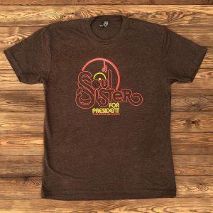 DJ Soul Sister for President t-shirt